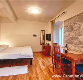 Studio Apartment in Komiza on Vis Island, Sleeps 2-3