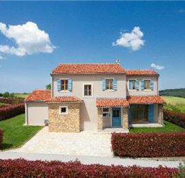 Istrian Villa with Pool and Sea Views near Buje, sleeps 8