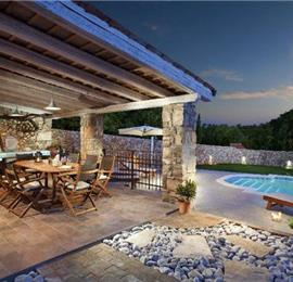 5 Bedroom Istrian Villa with Pool near Labin, sleeps 9