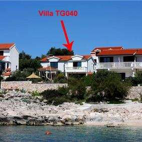 2 Bedroom Villa in Sevid near Primosten, Sleeps 4