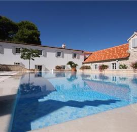 Luxury Dalmatian Island Castle-style Villa with Pool, sleeps 16-20
