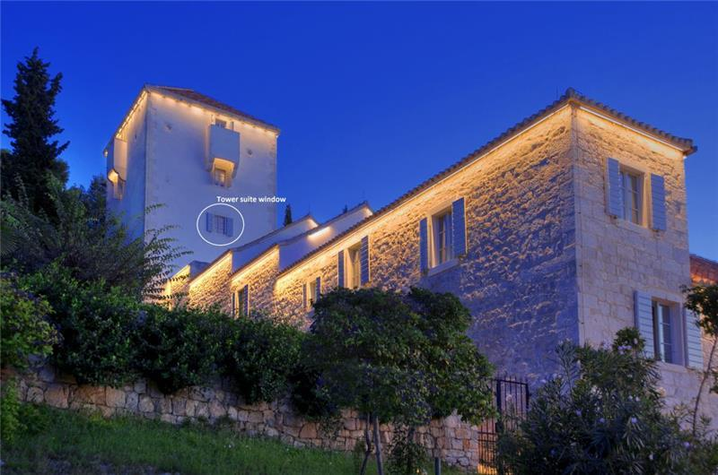 Luxury Dalmatian Island Castle-style Villa with Pool, sleeps 16-20