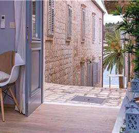 1 Bedroom Luxury Apartments in Hvar Town, Sleeps 2