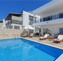 2 Bedroom Villa with Pool and Coastal View near Kalkan, sleeps 4
