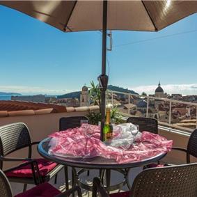 3 Bedroom Villa with Sea Facing Roof Terrace in Dubrovnik Old Town, Sleeps 4-6