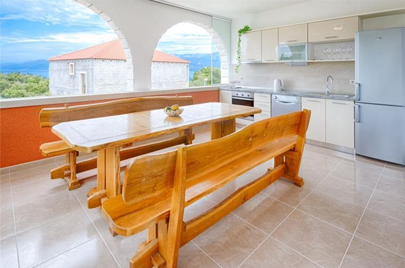 4 Bedroom Brac Island Villa near Postira Town, sleeps 8-10
