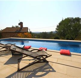 3 Bedroom traditional Istrian Villa with Pool and Rovinj views