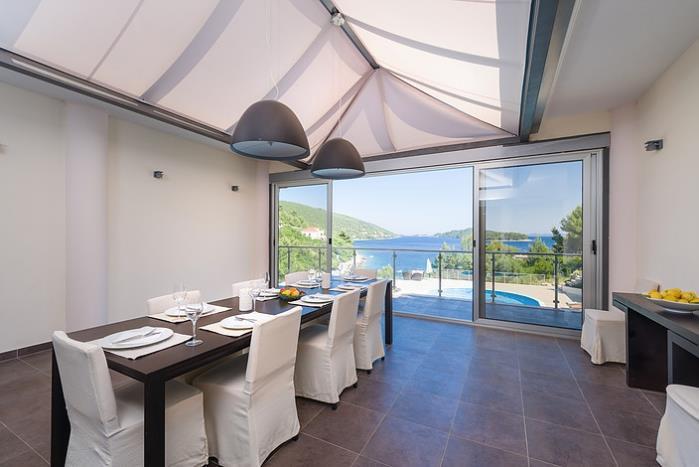 Luxury 7 Bedroom Villa with Pool in Stunning Bay near Vela Luka, Korcula - sleeps 14-17