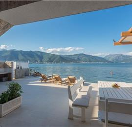 2 Bedroom Seafront Villa near Kotor, sleeps 6-8