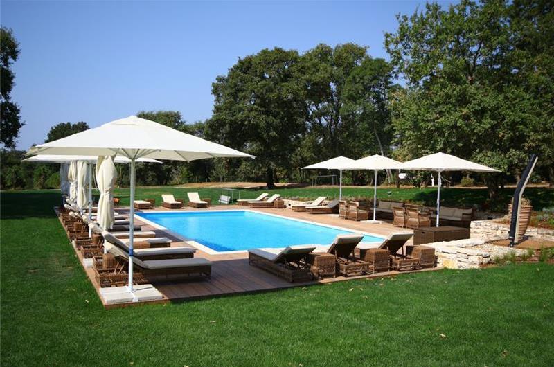 Luxury Villa Estate with 3 Pools on Istrian Vineyards near Bale, sleeps 56-60