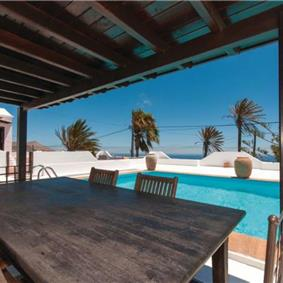3 Bedroom Villa with Pool and Distant Sea Views near Puerto del Carmen, sleeps 6