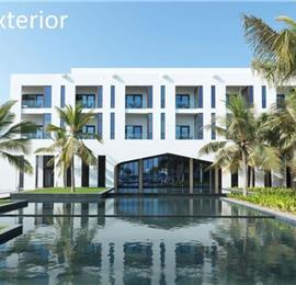 3 Bedroom Beachfront Villa with Pool in Salalah, sleeps 6-9