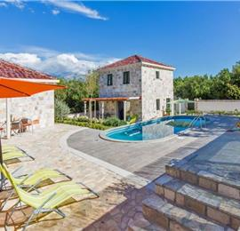 4 Bedroom Villa with Pool in Mocici near Cavtat, sleeps 8