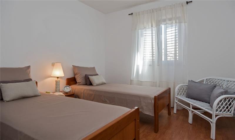 2 Bedroom Beachfront Apartment near Rogoznica, sleeps 4
