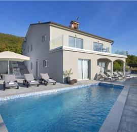4 Bedroom Villa with Heated Pool near Labin, sleeps 8