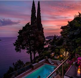 6 Bedroom Luxury Villa with Pool and Sea Views in Dubrovnik City, sleeps 12