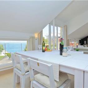 8 Bedroom Beachfront Villa on Korcula Island, sleeps 16-20