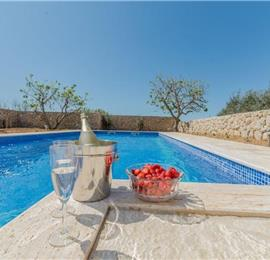3 Bedroom Villa with Pool, in Zadar, sleeps 6-8
