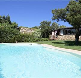 3 Bedroom Villa with Pool and Sea views in Porto Cervo Marina, Costa Smeralda, sleeps 5-6