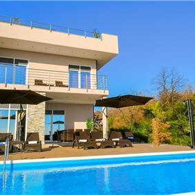 4 Bedroom Villa with Pool and Sea Views in Opatija, sleeps 8