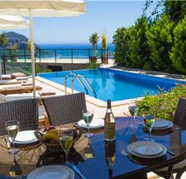 5 Bedroom Villa with Pool in Kalkan, Sleeps 9