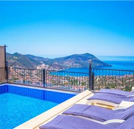9 Bedroom Villa with Pool in Kalkan, Sleeps 19