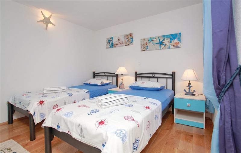 2 Bedroom Villa with Pool and Sea View in Prizba, sleeps 4-6