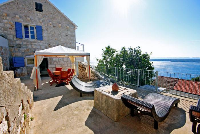 Villa With Pool In Zavala On Hvar Island Croatia Hv053