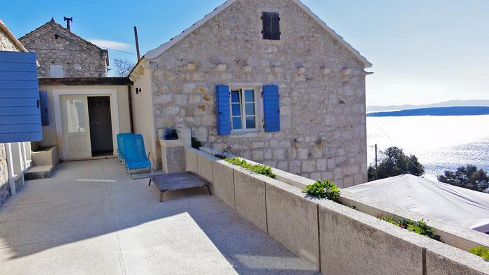 4 bedroom villa with pool in Zavala, Hvar Island, Sleeps 8