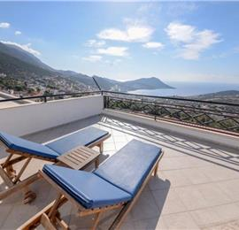 7 Bedroom Villa with Pool in Kalkan, Sleeps 14