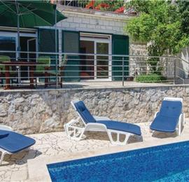 1 Bedroom Villa with Pool and Sea View in Trstenik, Peljesac Peninsula, sleeps 2-6