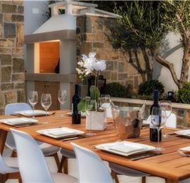 Luxury 4 Bedroom Beachfront Villa with Infinity Pool near Korcula Town, Korcula, sleeps 8
