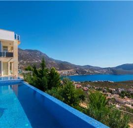 5 Bedroom Villa with Pool in Kalkan, Sleeps 10