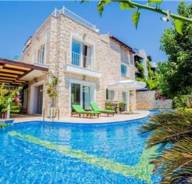 4 Bedroom Villa with Pool in Kalkan, Sleeps 6-7