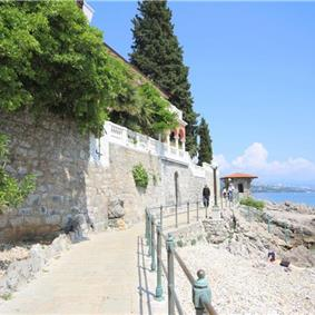 3 Bedroom Luxury Beachfront Villa with Heated Pool in Opatija, sleeps 6