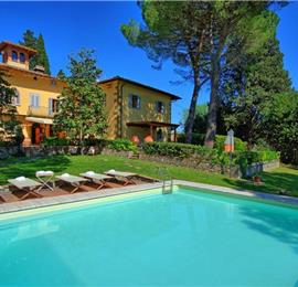 8 Bedroom Villa with Pool near Certaldo, Tuscany, Sleeps 14 - 15