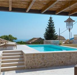 3 Bedroom Villa with Pool and Sea Views in Orasac near Dubrovnik, sleeps 6-8