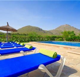 3 Bedroom Villa with Pool in Port de Pollensa, Sleeps 6