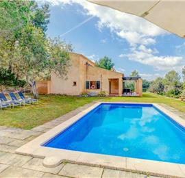 3 Bedroom Villa with Pool near Artà, Mallorca, Sleeps 6