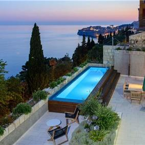5 Bedroom Villa with Pool and Sea Views in Dubrovnik City, sleeps 10-13