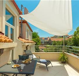 1 Bedroom Apartment with Terrace near Dubrovnik Old Town, Sleeps 2-4