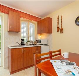 Studio Apartment with Terrace and Garden near Dubrovnik Old Town, Sleeps 2-3