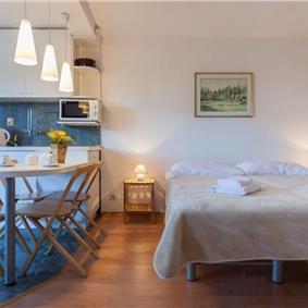 Studio Apartment with Terrace and Garden near Dubrovnik Old Town, Sleeps 2