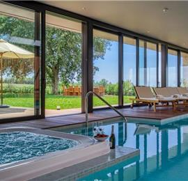 4 Bedroom Countryside Villa with Private Spa Centre and Pool near Porec, Sleeps 8-10