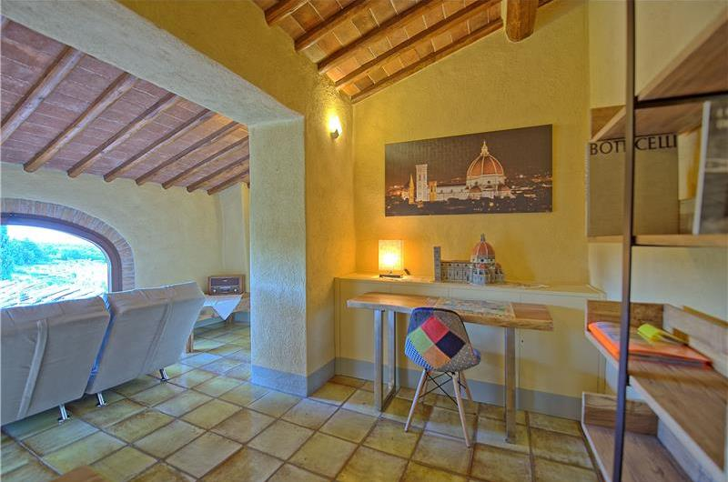 6 Bedroom Villa with Pool in San Donato in Poggio, Sleeps 12