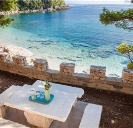 5 Bedroom Beachfront Villa near Orebic, Sleeps 10