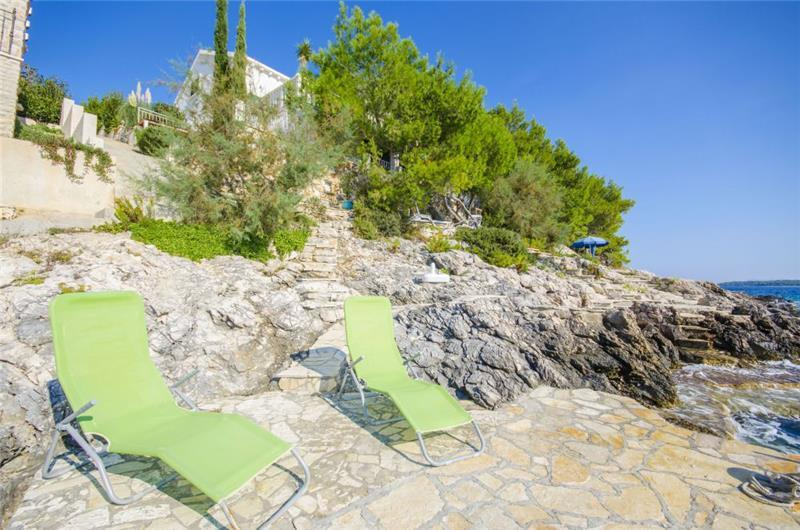 1 Bedroom Beach House with Terrace, near Vela Luka on Korcula Island, Sleeps 2-3