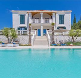 5 Bedroom Villa with Infinity Pool and Sea Views near Dubrovnik, Sleeps 10