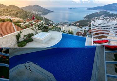 1 Bedroom Villa With Infinity Pool Near Kalkan Town Sleeps 2