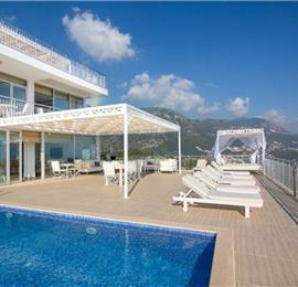 4 Bedroom Villa with Two Pools near Kalkan Town, Sleeps 8